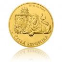 2017 - Zlatá mince 500 NZD Česká státnost - 10 Oz