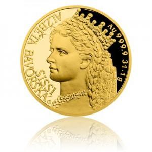 2017 - Zlatá investiční mince 50 NZD Alžběta Bavorská - Sissi