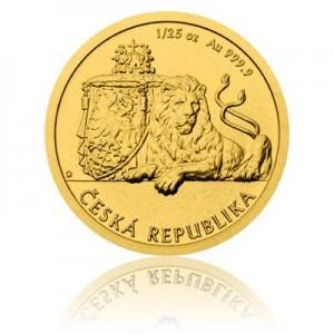 2017 - Zlatá mince 5 NZD Český lev - 1/25 Oz