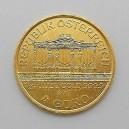 Zlatá investiční mince Wiener Philharmoniker, Vídeňský filharmonik 1/25 Oz - rok 2017