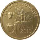 Zlatá mince Kulturní památka hamr v Dobřívě - Proof - ZMĚNA!!! - emise 5. května 2010