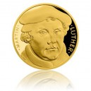 2017 - Zlatá mince 25 NZD Martin Luther - Proof - 1/2 Oz