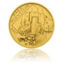 Hrad Pernštejn - zlatá mince z cyklu Hrady České republiky - běžná kvalita - Standard