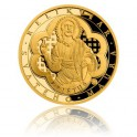2017 - Sada 2 zlatých mincí 10 NZD Relikviář sv. Maura