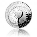 Stříbrná mince Česká astronomická společnost - Proof