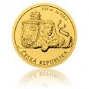 2018 - Zlatá mince 5 NZD Český lev - 1/25 Oz