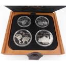 Sada čtyř stříbrných mincí LOH Montreal 1976, Proof - rok 1973