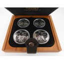 Sada čtyř stříbrných mincí LOH Montreal 1976, Proof - rok 1976 I.