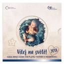 Sada oběžných mincí České republiky 2018 - Narození dítěte