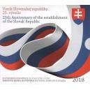 Sada oběžných mincí Slovenské republiky 2018 - 25. výročí vzniku Slovenské republiky