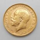 Zlatá mince Sovereign 1911