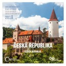Sada oběžných mincí Česká republika 2018