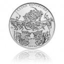 Stříbrná mince Klaudyánova mapa Čech - Standard