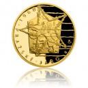 2018 - Zlatá mince 25 WST Převratné osmičky našich dějin - 1968 - Proof