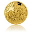 2018 - Zlatá mince 5 NZD Povstání ve Varšavském ghettu