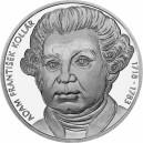 Stříbrná pamětní mince Adam František Kollár 2018, Proof