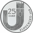 Stříbrná pamětní mince 25. výročí vzniku Slovenské republiky 2018, Standard