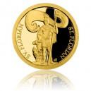 2018 - Zlatá mince 5 NZD Patroni - Svatý Florián - Proof