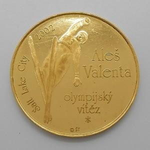 2002 - Zlatá medaile Aleš Valenta - olympijský vítěz