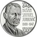 Stříbrná pamětní mince Dušan Samuel Jurkovič, Standard
