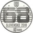Stříbrná pamětní mince Dušan Samuel Jurkovič, Proof