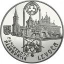 Stříbrná pamětní mince Levoča - 2017, Proof