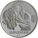 Stříbrná pamětní mince Zoborské listiny 2011, Proof