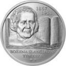 Stříbrná pamětní mince Božena Slančíková Timrava 2017, Proof