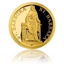 2018 - Zlatá mince 5 NZD Patroni - Svatá Barbora - Proof