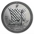 Platinová investiční mince One Noble - rok 1984