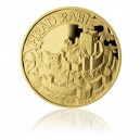 Zlatá medaile Hrad Rabí - Au 1/4 Oz