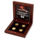 2018 - Sada 4 zlatých mincí 10 NZD Čs. letci v RAF - Významné události