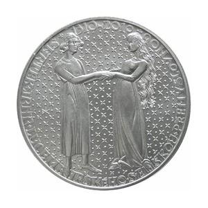 Pamětní stříbrná mince Nástup Jana Lucemburského na trůn - Proof