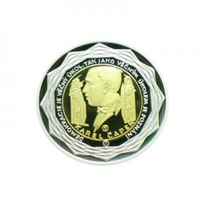1999 - Zlatá bimetalová medaile k zavedení EURO měny - 500 Euro