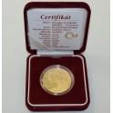 Zlatá medaile Giuseppe Arcimboldo Vertumnus, Au 1 Oz