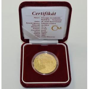 Zlatá medaile Giuseppe Arcimboldo - Vertumnus