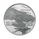 2005 - Stříbrná medaile 60. výročí konce 2. světové války