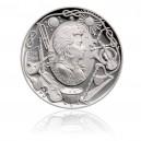 Stříbrná medaile Wolfgang Amadeus Mozart