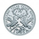 "Stříbrná medaile Svatební tolar ""2005"""