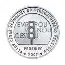 2008 - Stříbrná medaile Vstup do schengenského prostoru