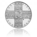 2019 - Stříbrná mince Československý červený kříž - Standard
