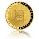 Zlatá pamětní mince Vznik československé měny - špičková kvalita - Proof