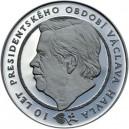 2003 - Stříbrná medaile Václav Havel