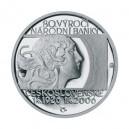2006 - Stříbrná medaile 80. výročí Státní banky Československé