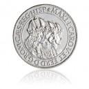 2008 - Stříbrná medaile Replika stříbrného tolaru tří císařů