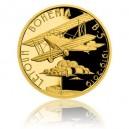 2019 - Zlatá medaile Letoun Bohemia - číslováno - Au 1/2 Oz
