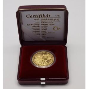 Zlatá medaile Dosažení severního pólu