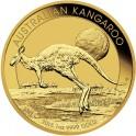 Zlatá investiční mince Australian Kangaroo - Klokan 1 Oz - rok 2015