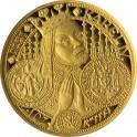 Zlatá mince KAREL IV. - Založení Nového Města pražského 1998, Proof