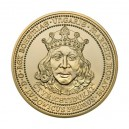 Zlatý 40 dukát Ludvíka Jagellonského
